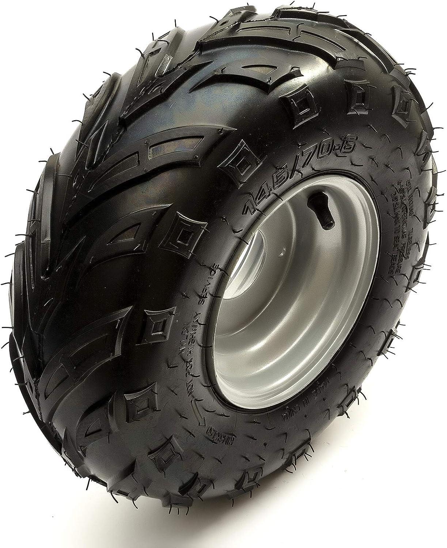 2x Wheel /& Tyre 145x70-6 Front//Rear Left /& Right Suzuki LT50 Quad Bike ATV