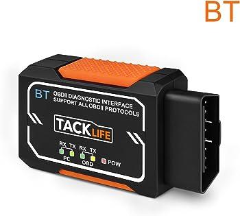 Tacklife Bluetooth OBD2 Diagnostic Scan Tool