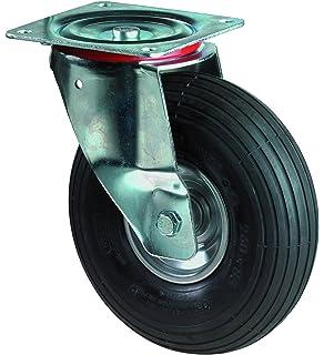 BS ruedas de transporte Rueda Giratoria, atornillable, rueda, rueda de acero Cuerpo,
