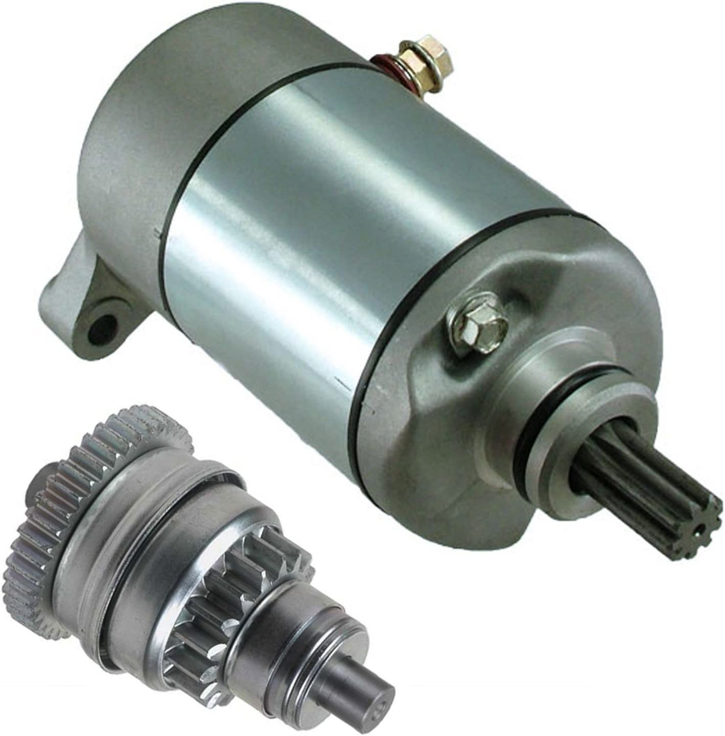 PROCOMPANY Starter and Drive Bendix Replaces FOR Polaris SPORTSMAN 400 HO 4X4 2011 2012 2013 2014