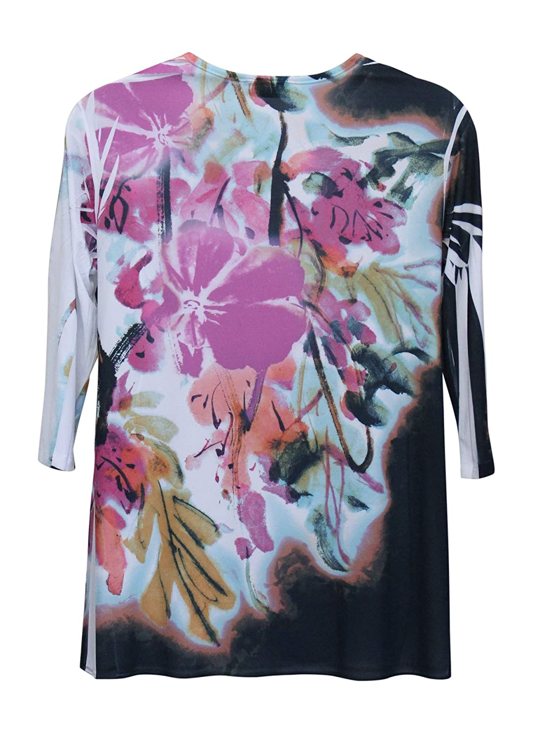 Sole Dione Studio Womens Orchid Flower Tunic Top