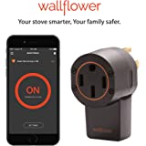 Wallflower Smart Monitor for Electric Stoves; Smartphone App, WiFi, GeoFencing, Smart.