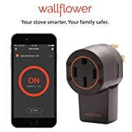 Wallflower Smart Monitor for Electric Stoves: Smartphone App, WiFi, GeoFencing, Smart.