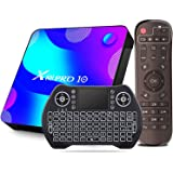Android 11 TV Box 4GB RAM 64GB ROM, EASYTONE X88 Pro Android Boxes Quad- Core Support BT4.0/ H.265/ 3D /5G WiFi/USB 3.0/ 64bi
