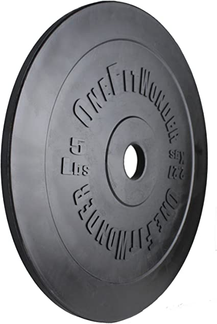 OneFitWonder 5-10lb Technique Training Plates (Pair) / Olympic Lifting Weightlifting