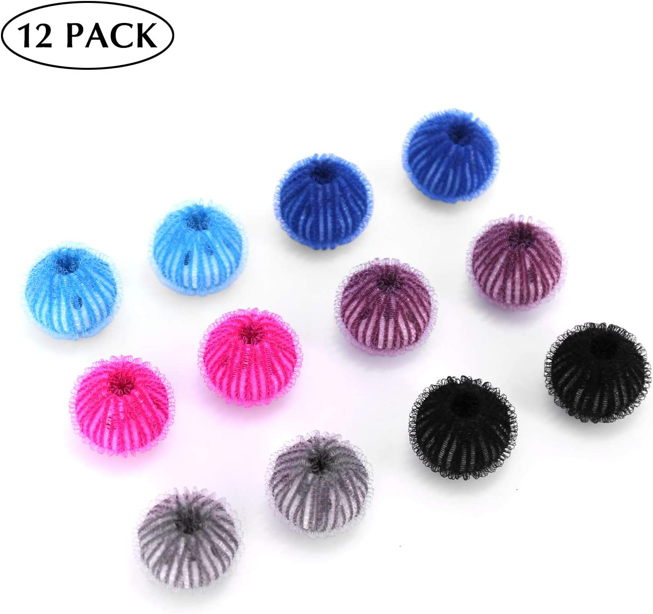 Upgraded Pet Hair Remover for Laundry-12 pack Lint Remover Washing Balls Reusable Dryer Balls Washer from Dogs and Cats