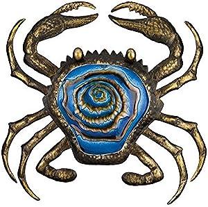 Regal Art & Gift Bronze Crab Wall Decor, 20-Inch