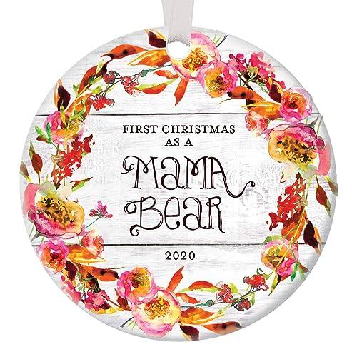 Cubs 2020 Christmas Ornament Amazon.com: First Christmas As Mama Bear 2020 Ornament Baby Shower