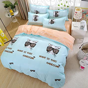b494f990c25 Fashion·LIFE Double-Sided Duvet Cover