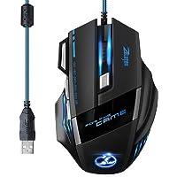 [Versión Actualizada] TOPELEK Ratón Gaming con Cable Profesional