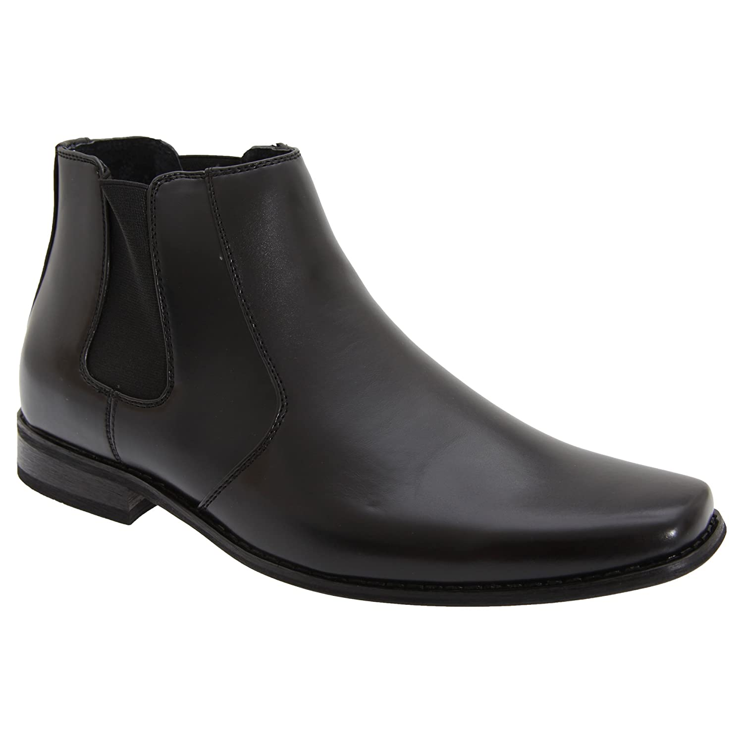 Goor Mens Twin Gusset Ankle Boots
