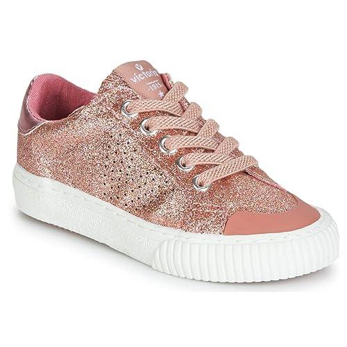 Victoria Tribu Glitter Fino, Zapatillas para Niñas: Amazon.es: Zapatos y complementos