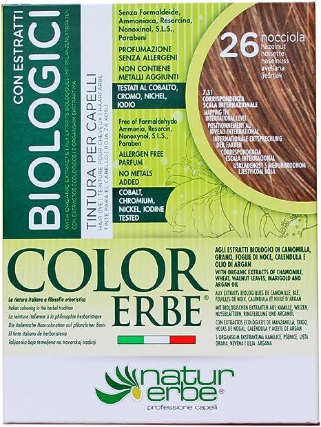 Naturerbe Color hierbas extractos Bio Tintura 26 avellana ...