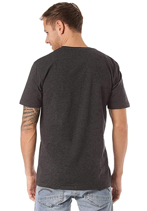 Volcom Camiseta Heather Pocket HTH - Hombre T-Shirt - Heather ...