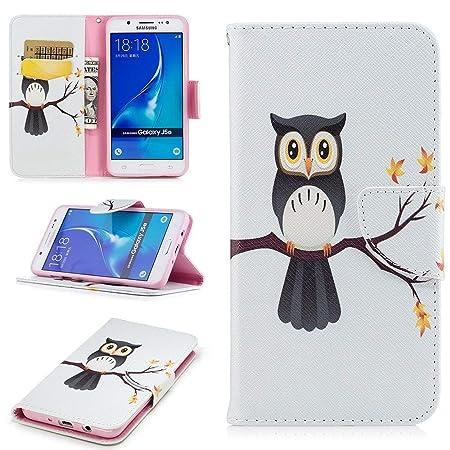 JINQD Home Estuches para Samsung Galaxy J5, Billetera de ...
