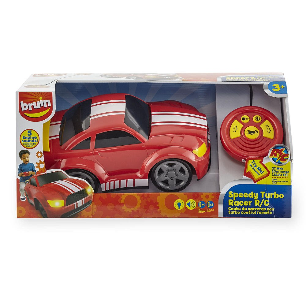 Amazon.com: Bruin 12 inch 27 MHz Radio Control Car - Red: Kitchen & Dining