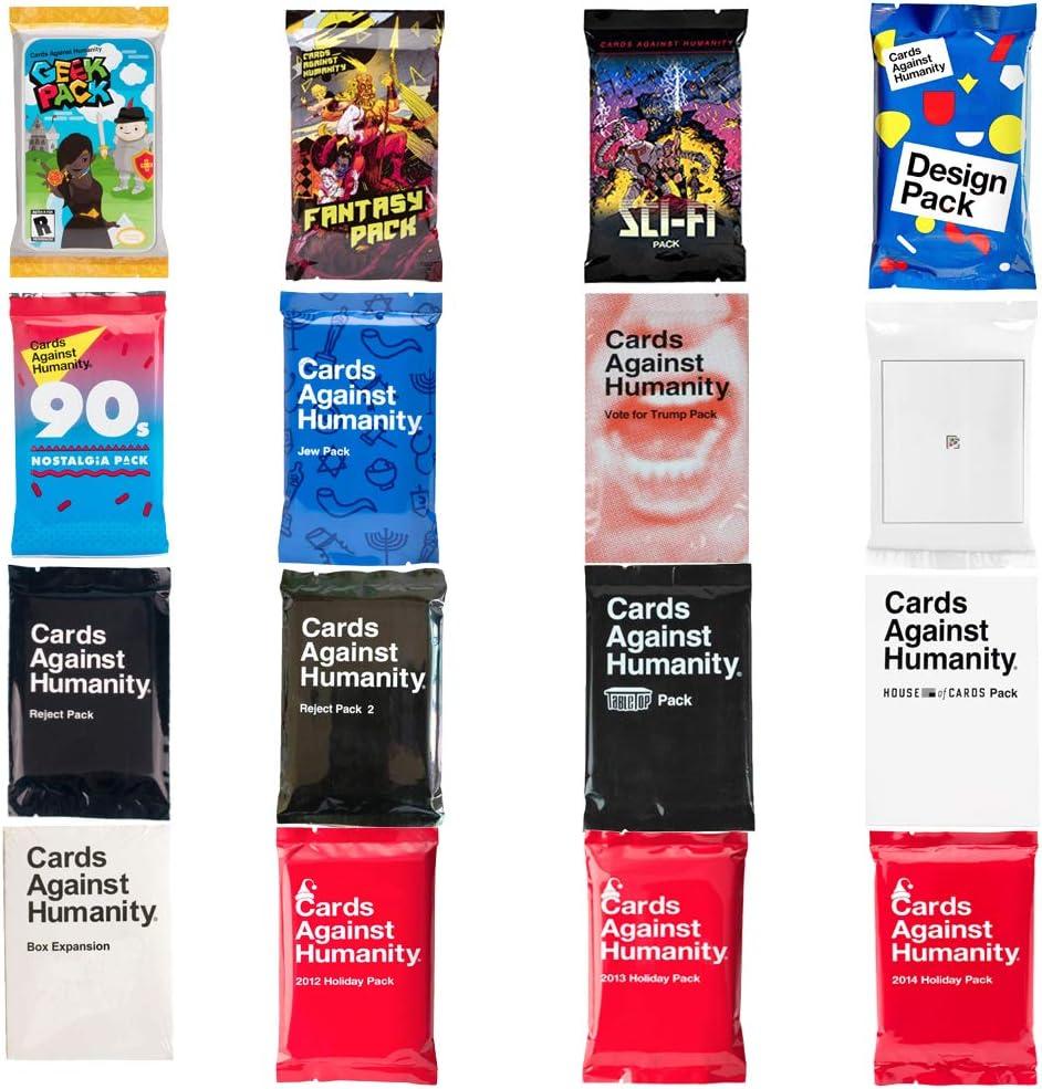 Cards Against Humαnity paquetes de expansión originales 1-6: Amazon.es: Juguetes y juegos