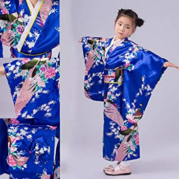 Vestidos De Fiesta para NiñAs De 4 A 10 AñOs, Disfraz De Kimono ...