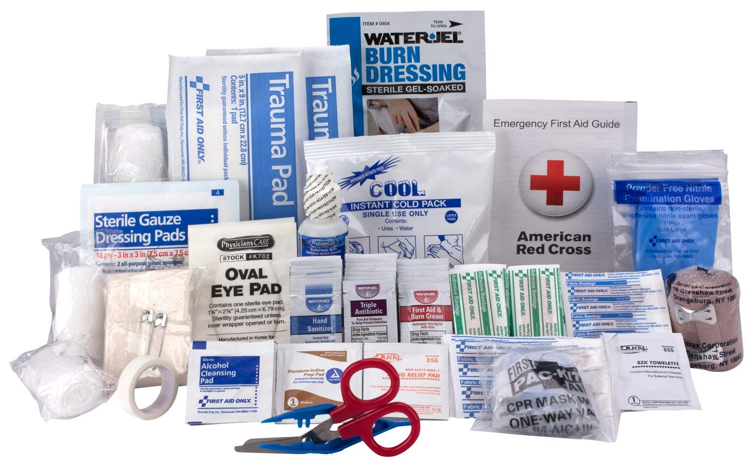 Xpress First Aid 183 Piece Refill Pack, ANSI/OSHA Compliant by Xpress First Aid