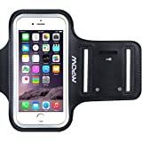 Mpow Sportarmband Armtasche Wasserabweisend Schweißbeständig Running Armband Etui Case Hülle Schutzhülle Armhalter für Sport/ Laufen/ Joggen für iPhone 5/5S/5C/SE, iPod Touch 5 mit Einstellbare Größe, Sicherheitsdesign, Geeignet