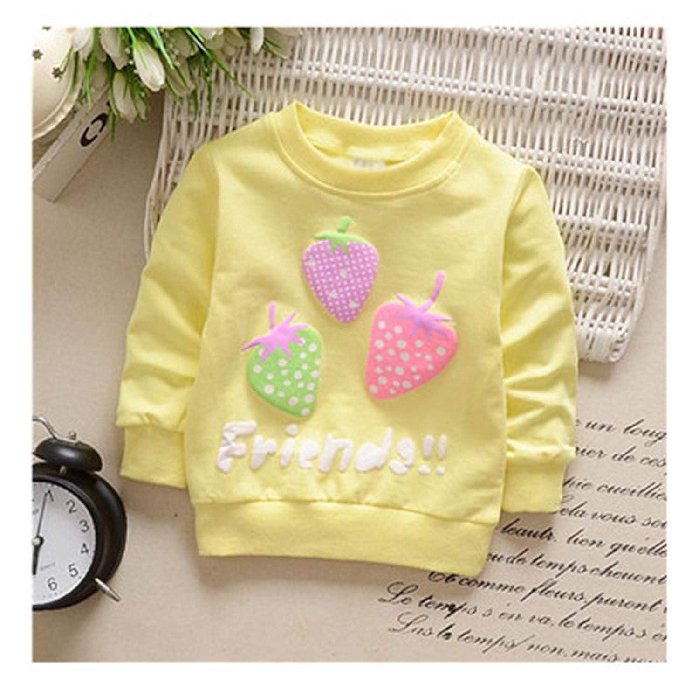 Gail Jonson Newborn Baby Sweater Baby Boys Girls Strawberry Pattern Clothing 0-2Y