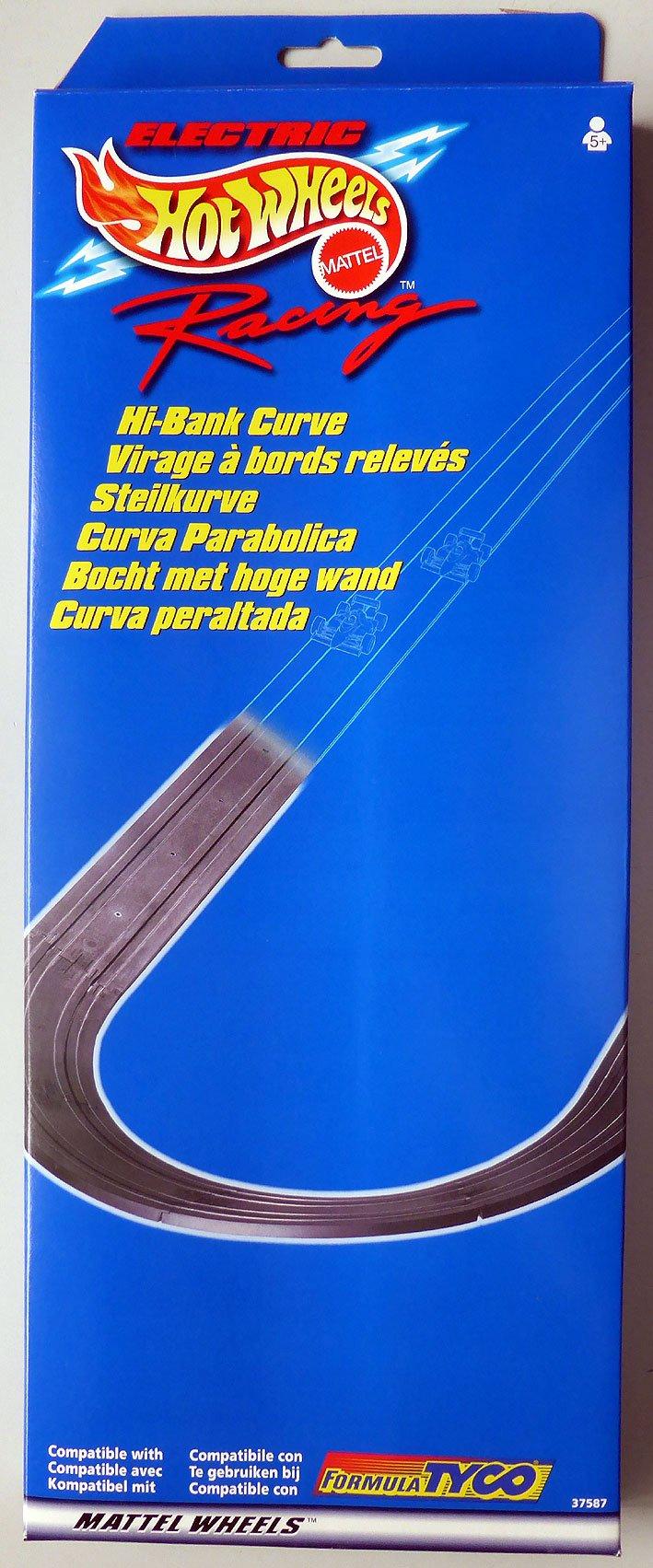 1998 TYCO MATTEL HO Slot Car Hi-Bank Banked Curve Track 37587