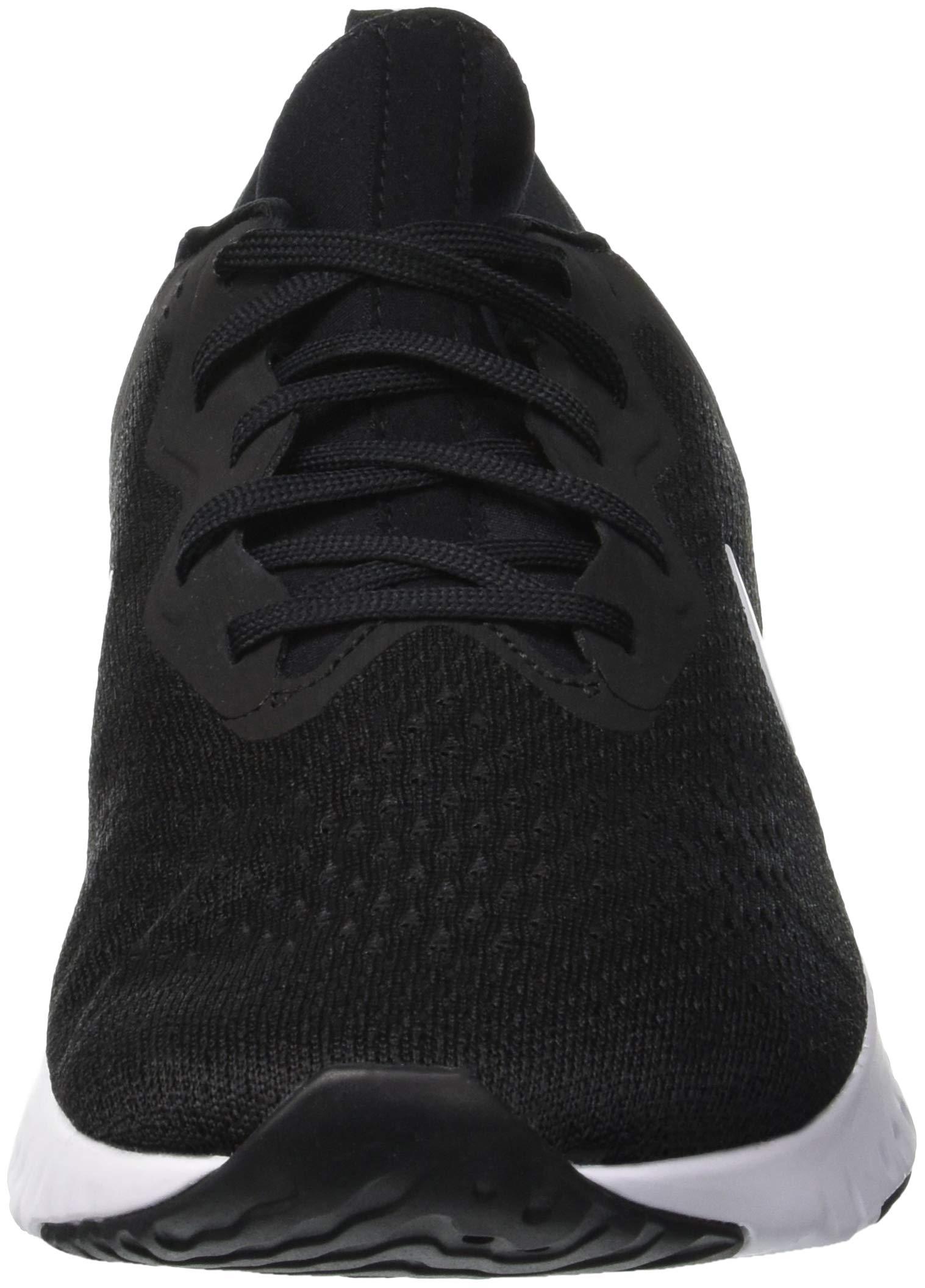 Nike Men's Odyssey React Running Shoe Black/White-Wolf Grey 7.5 by Nike (Image #4)