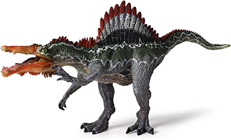Figure Realistic Dinosaur Model Kids Birthday Gift Spinosaurus Jurassic Fun L5V7