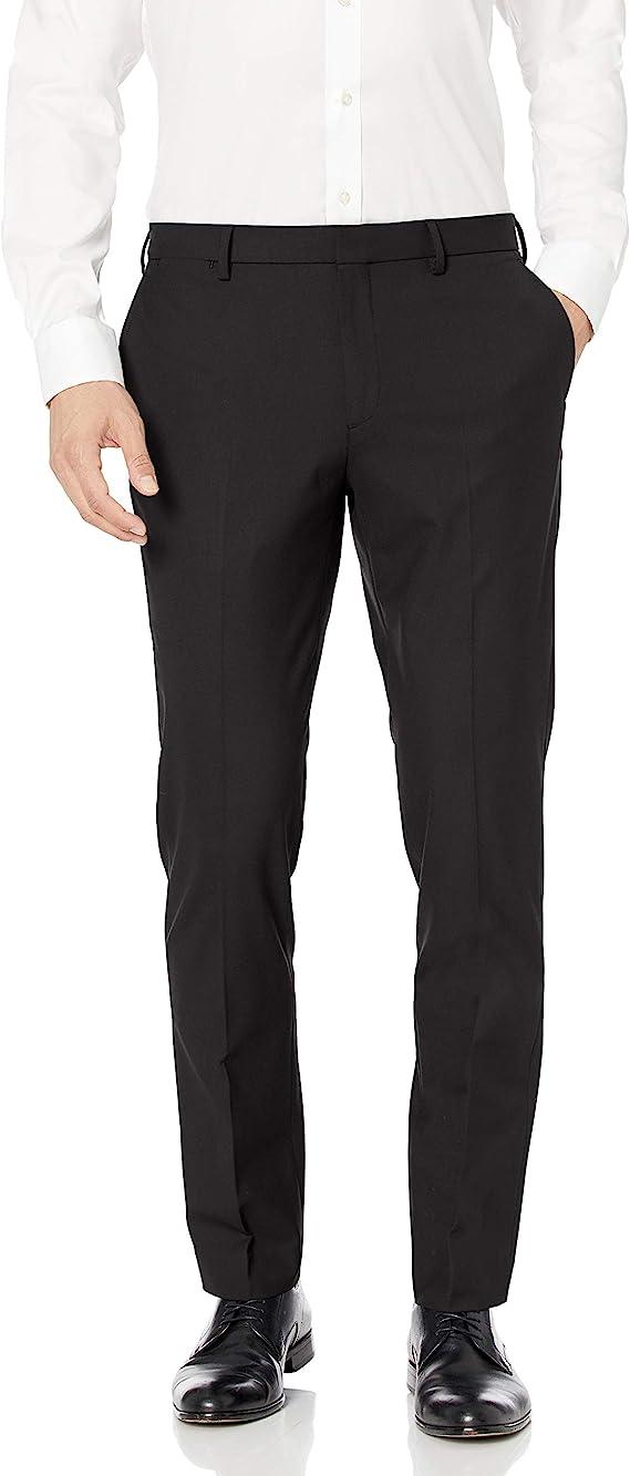 Amazon Essentials Men's Slim fit Wrinkle Resistant Stretch Dress Pant