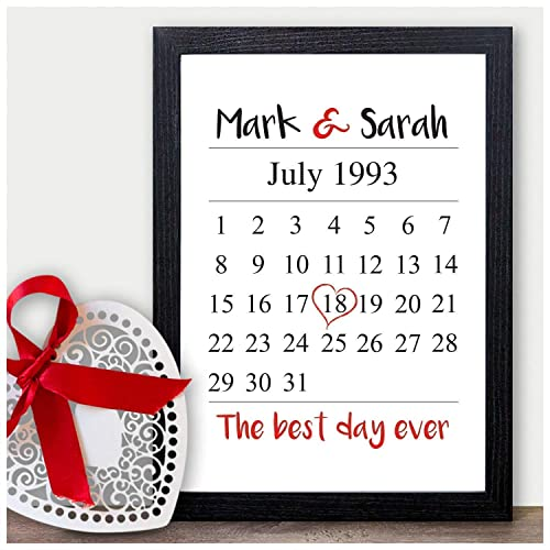 Personalised Gifts For Him Anniversary Christmas Birthday Present Boyfriend