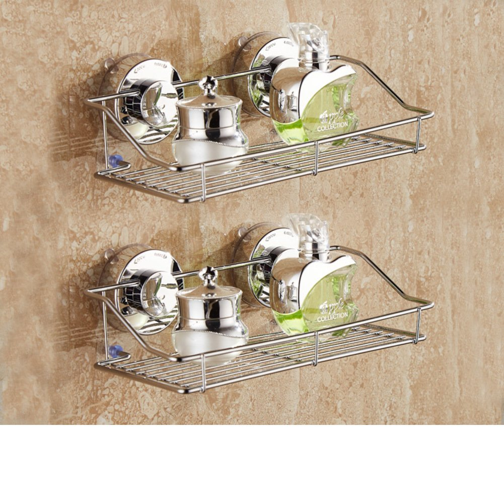 suction cup towel rack/Towel shelf /toilet/Bathroom storage rack/wall mounted rack/Bathroom hardware accessories set/punch-free bathroom rack-J