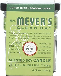 product image for Mrs. Meyer's Clean Day Soy Candle-Iowa Pine-4.9 oz