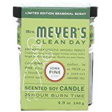 Mrs. Meyer's Clean Day Soy Candle-Iowa Pine-4.9 oz