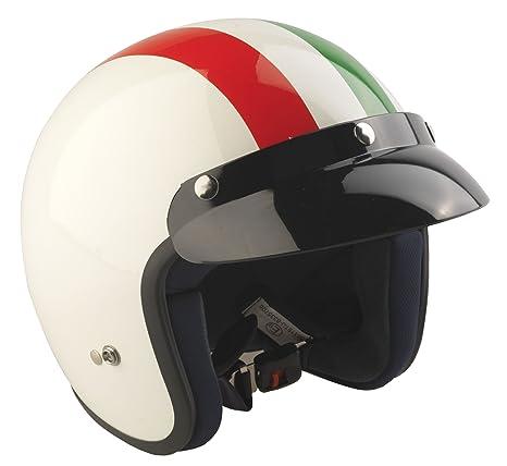 RS Moto-Casco Jet 04 Italia Moto Casco Jet Scooter Touring Cascos de la Bandera