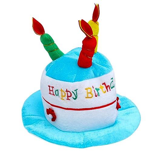 Luoem - Gorro de fiesta de cumpleaños para niños con diseño ...