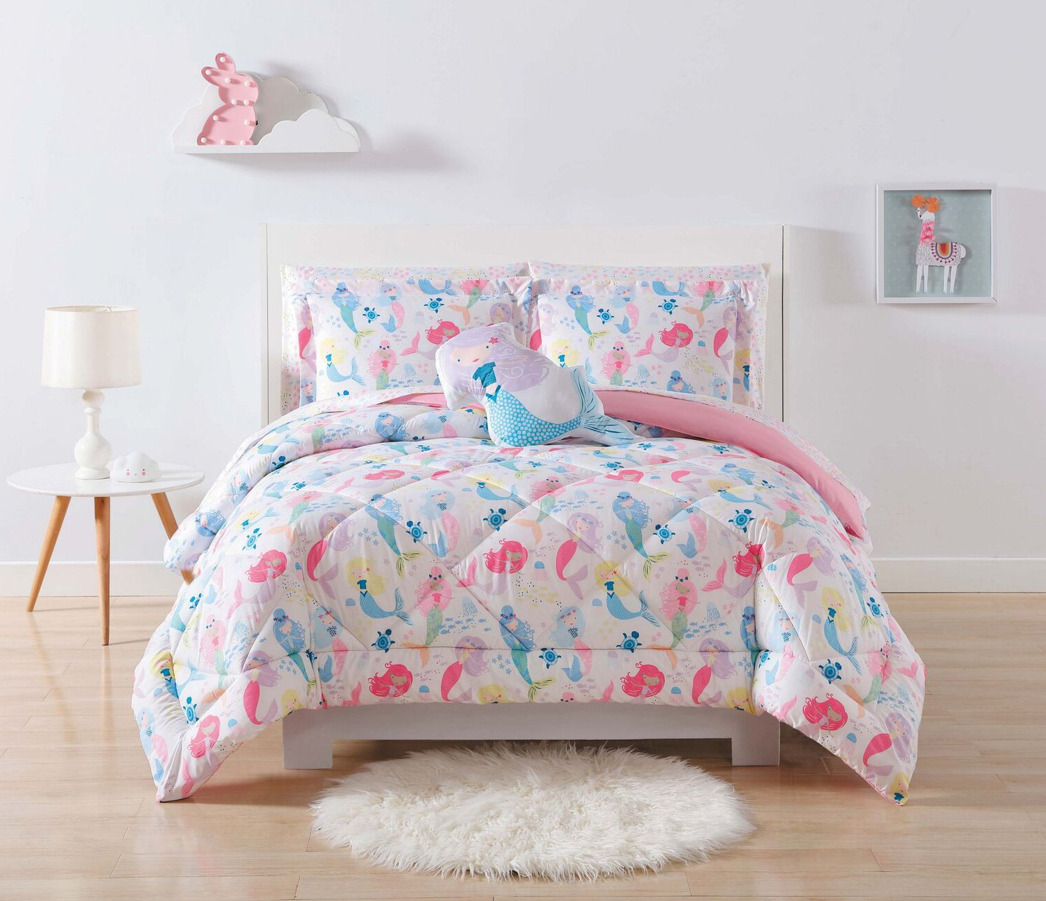 Laura Hart Kids Comforter Set, Twin/Twin XL, Mermaids by Laura Hart Kids
