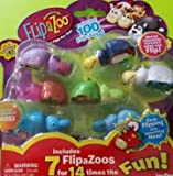 NEW! FlipaZoo SERIES 1 - Mini Collectible Figures 7 Pack - Includes 7 FlipaZoo for 14 Times the Fun - STYLE 4