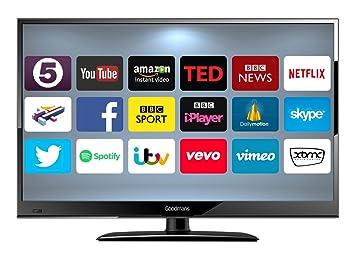 GOODMANS 24-Inch Android Smart TV - Black: Amazon.co.uk: TV
