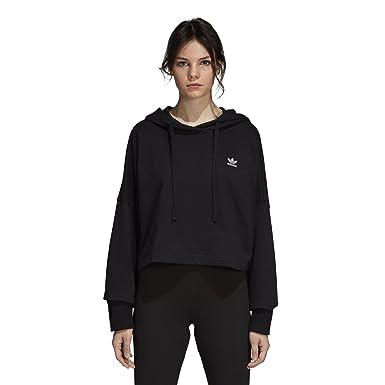 54134f8006ec84 adidas Originals Womens SC Cropped Hoodie Hoodies  Amazon.ca ...