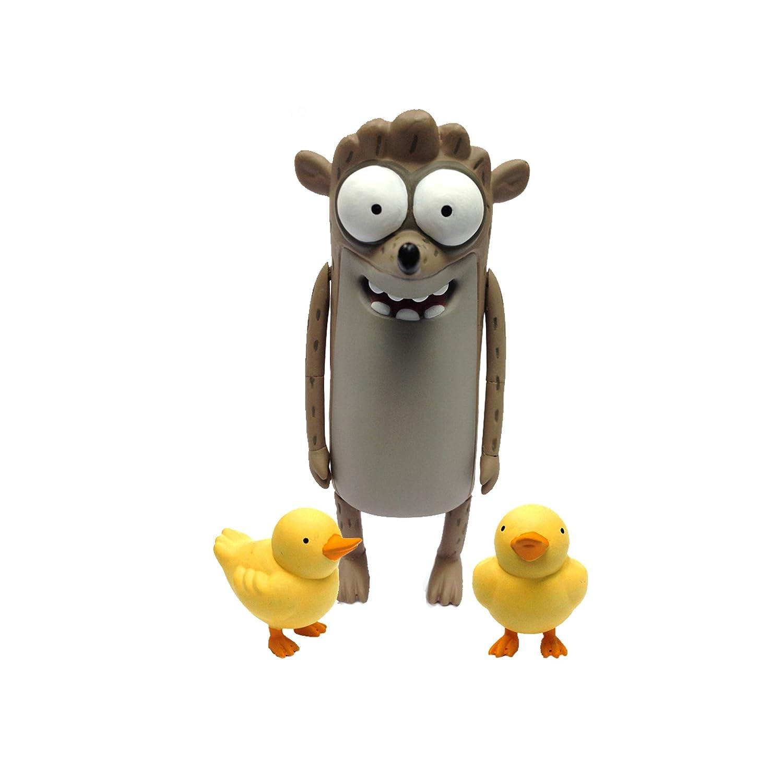 buen precio Regular Show Bendable Rigby With Baby Ducks Figura De Acción Acción Acción  respuestas rápidas