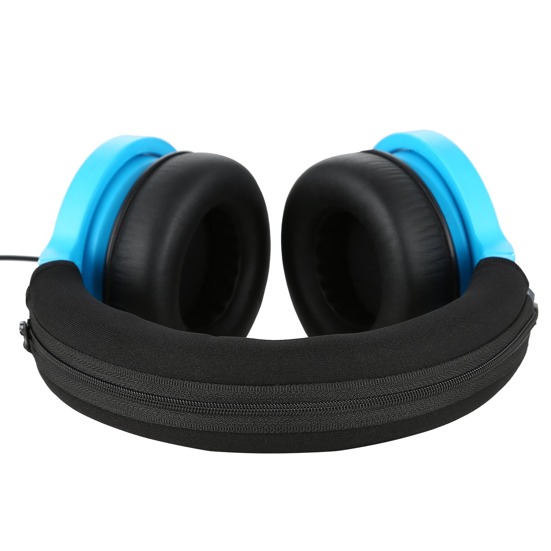 Razer Kraken Headband Cover, JARMOR Replacement Head Band Protector with  Zipper [ Easy Installation ] for Razer Kraken Headphones ONLY (Black)