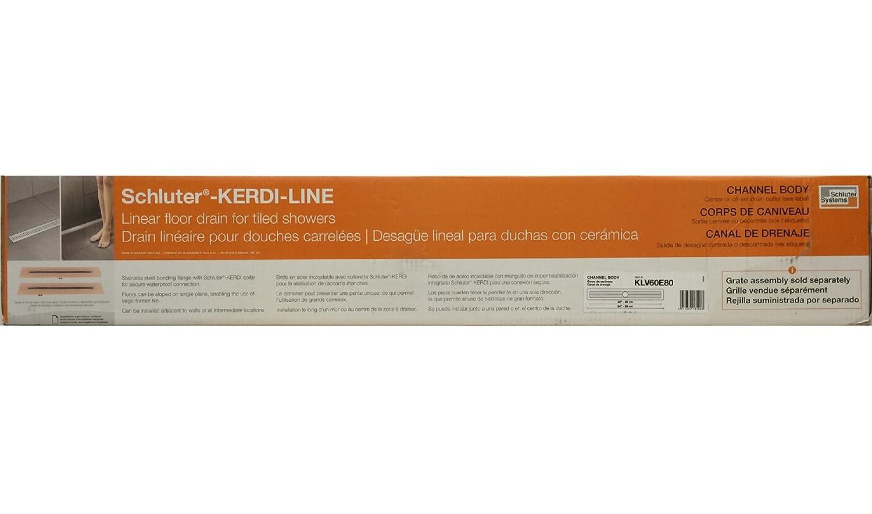 "Schluter K Line 32 ""ボンディングシャワーフランジ B009WR021E"