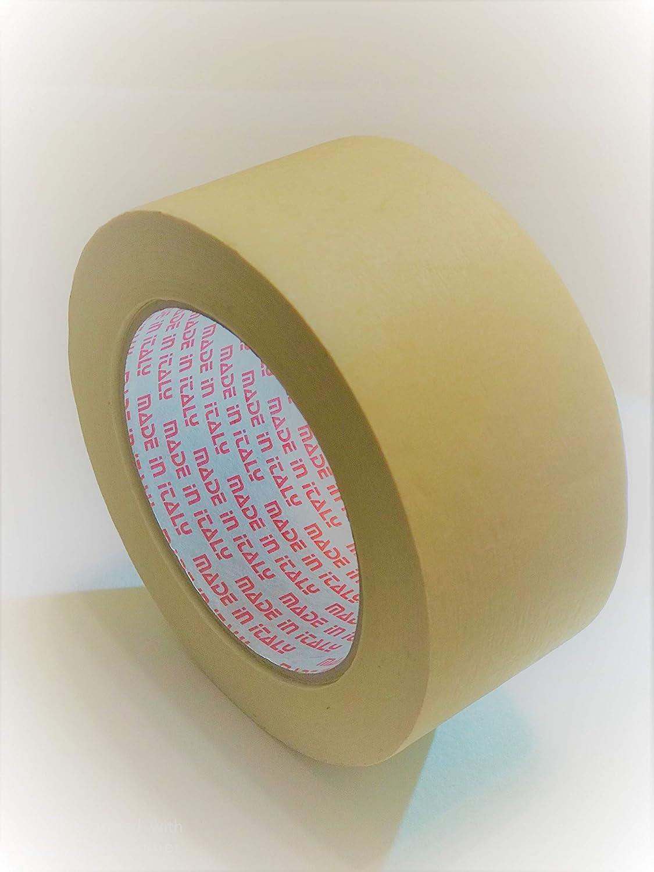 6 rotoli verniciatura 50m x 50mm HYPERFORM-Nastro di carta per mascheratura