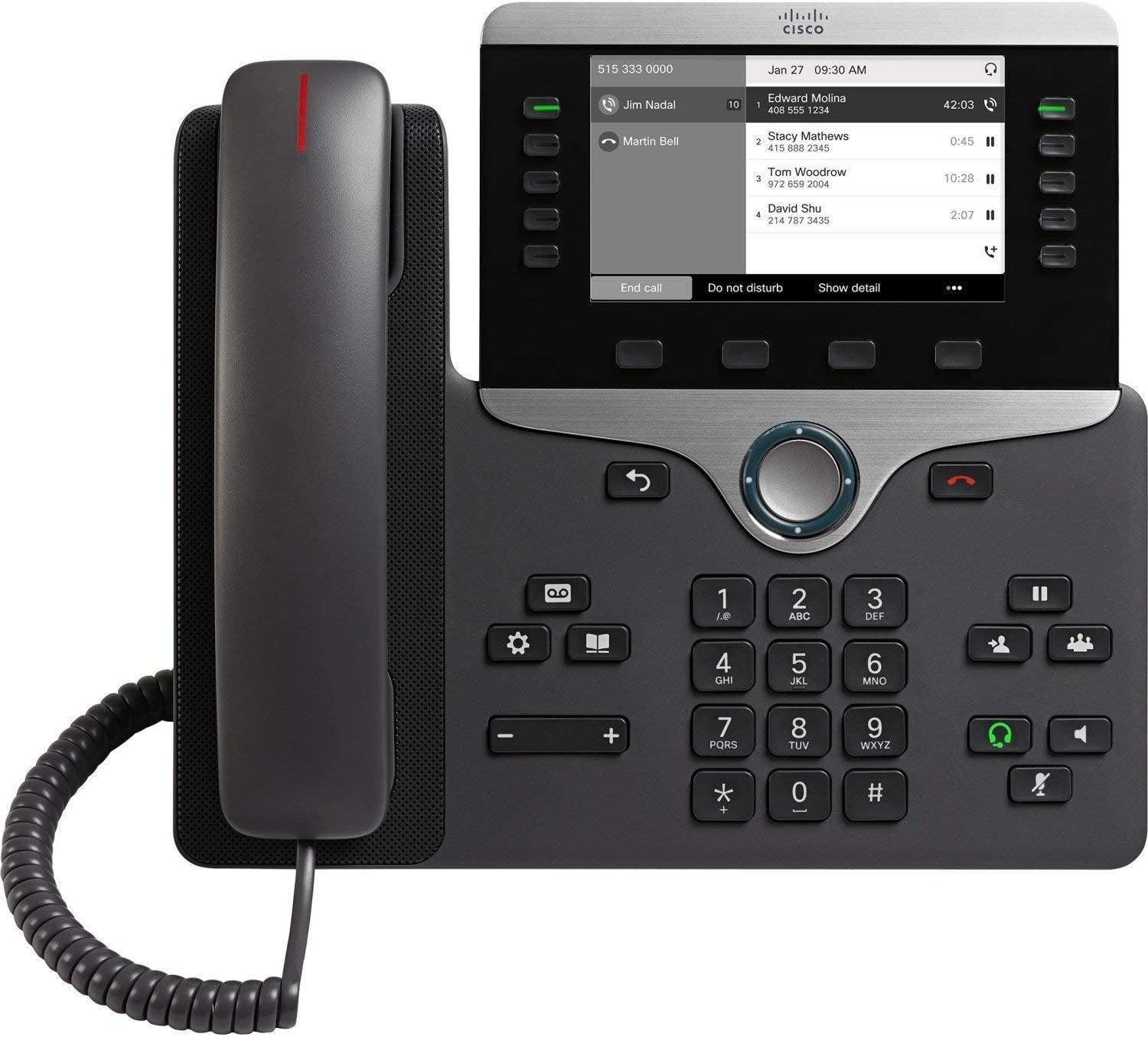 Cisco 8811 IP Phone with Multiplatform Firmware - CP-8811-3PCC-K9