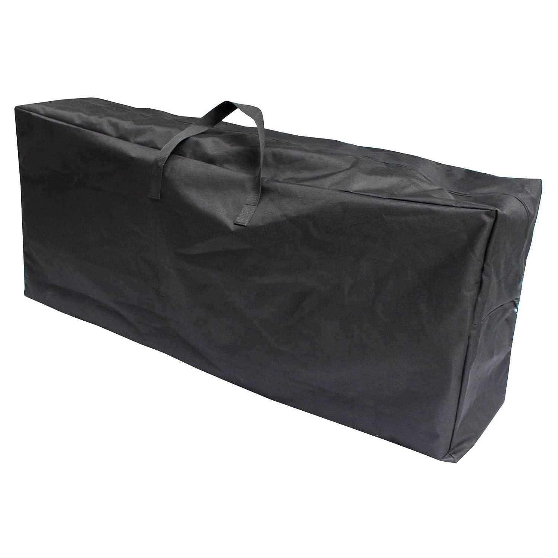 Micro-Pro Large Black Storage Bag 127cm Handles Zip Christmas Tree Toys Clothing Loft Shed XS-Stock
