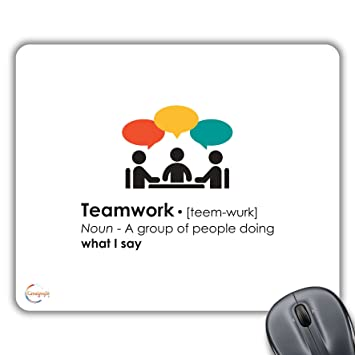 Cp280 Funny Teamwork Definition Meaning Novelty Gift Printed Pc