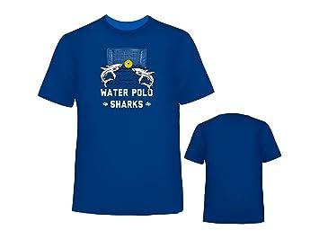 Diapolo apos;Water Polo Shark – Camiseta, negro, xx-large