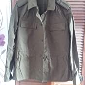 a919a2fed5b Genuine CZECH Army Issued Olive Drab M85 Field Jacket  Amazon.co.uk ...