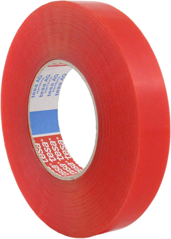 Tesa - Cinta adhesiva de doble cara tesafix 4965 | de adhesión fuerte | ancho a elegir, 50 m | transparente | cinta adhesiva profesional | fijación fuerte en muchos materiales: Amazon.es: Bricolaje y herramientas