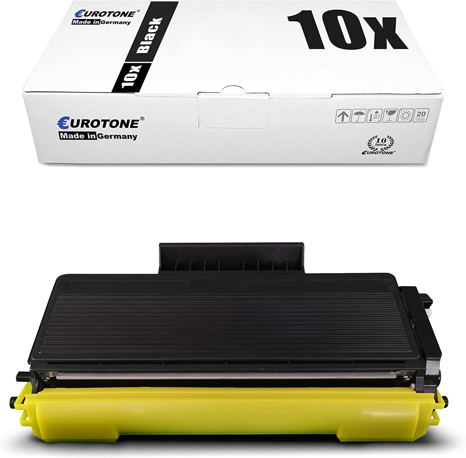 10x Eurotone XXL Toner for Brother DCP 8070 8080 8085 8880 8890 DW D DN Replaces TN3280
